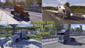 American Trucks in traffic