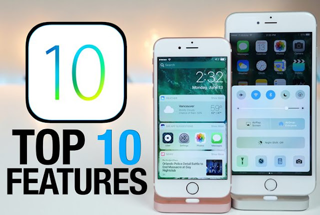 Top 10 iOS 10 Features