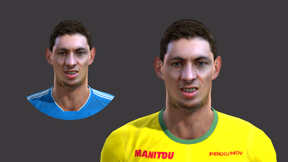 PES 2013 EMILIANO SALA face by EmreKaya