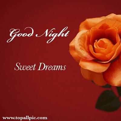 good night sweet dream photo