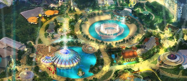 Hub Concept Art Universal's Epic Universe