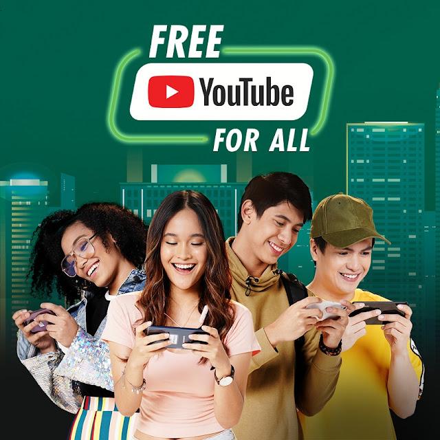 Smart, Sun, TNT subscribers get #FreeYouTubeForAll Surprise