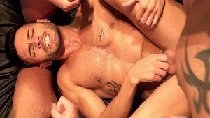 Andy Star Gets Gangbanged with Marc Ferrer, Gabriel Luann, Julio Rey (Bareback)