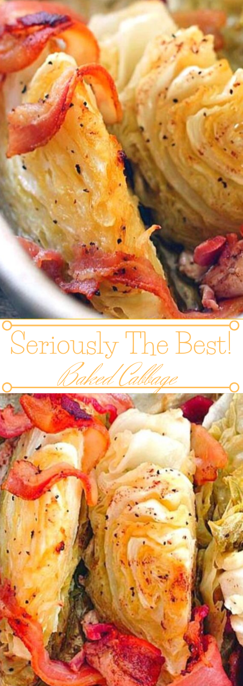 BAKED CABBAGE #vegetarian #broccoli #vegan #lowcarb #whole30