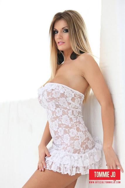 Tommie Jo de lingerie branca