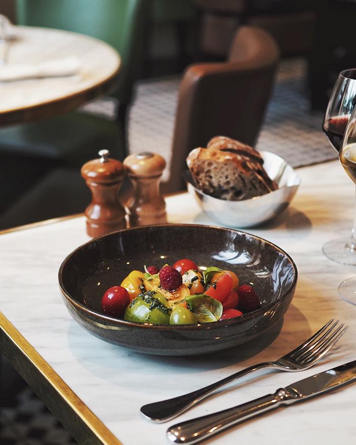 Diner à la Villa Marx à Lyon