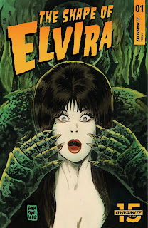 Cover A of The Shape of Elvira #1 from Dynamite Entertainment
