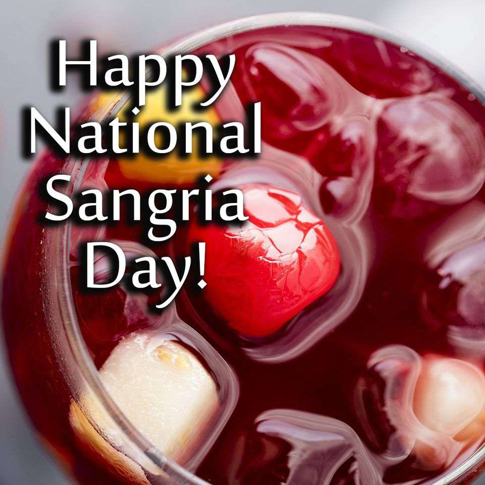 National Sangria Day Wishes Pics
