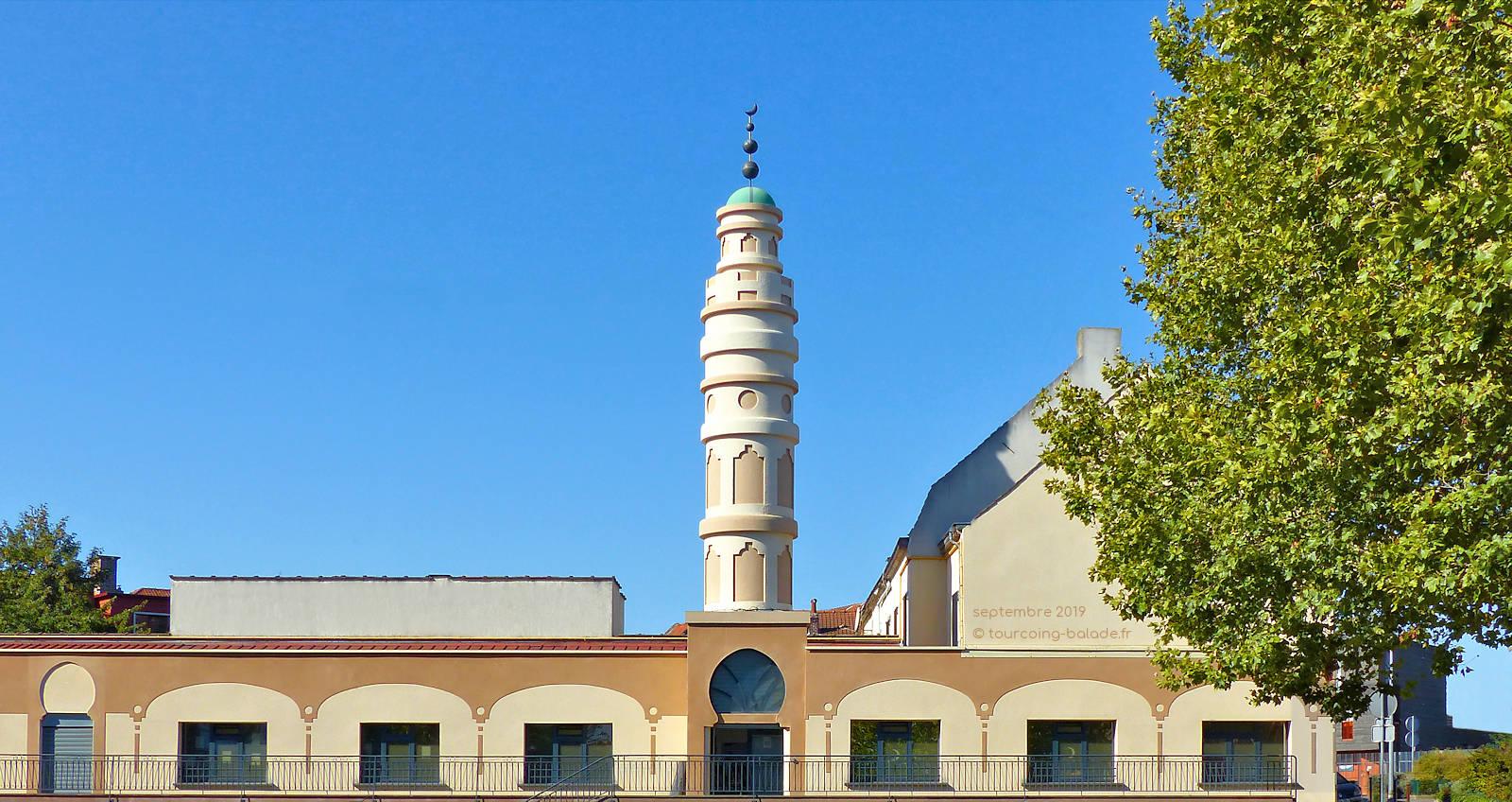 Mosquée As-Salam, Tourcoing - Rue de la Croix-Rouge.