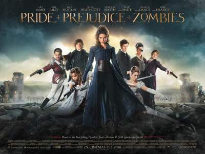 Pride and Prejudice and Zombies (2016) Hindi Movies Dual Audio