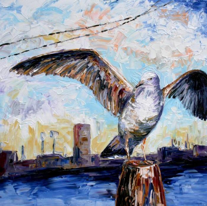 Австралийский художник. Simon Kitching 9