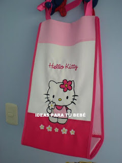 Pañalera Hello Kitty