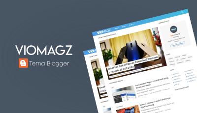 VioMagz Template Blogger SEO