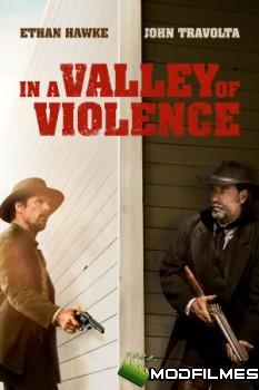 Capa do Filme No Vale da Violência