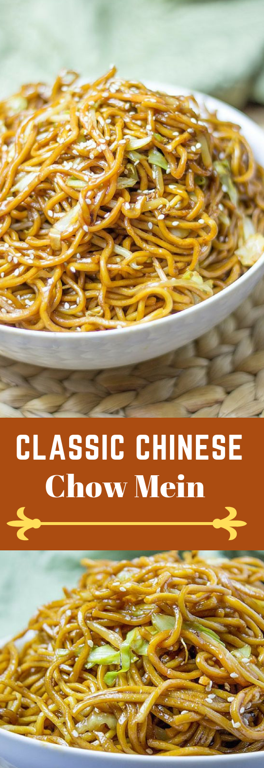 CLASSIC CHINESE CHOW MEIN #dinner #eating