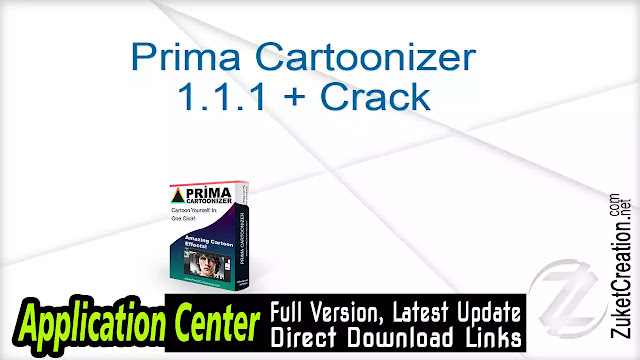 Prima Cartoonizer 1.1.1 + Crack