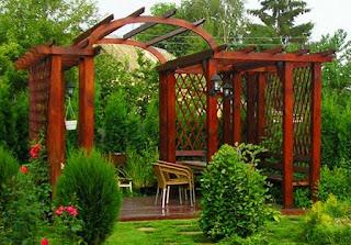 Садовые беседки из дерева в Кропоткине Армавире Гулькевичи