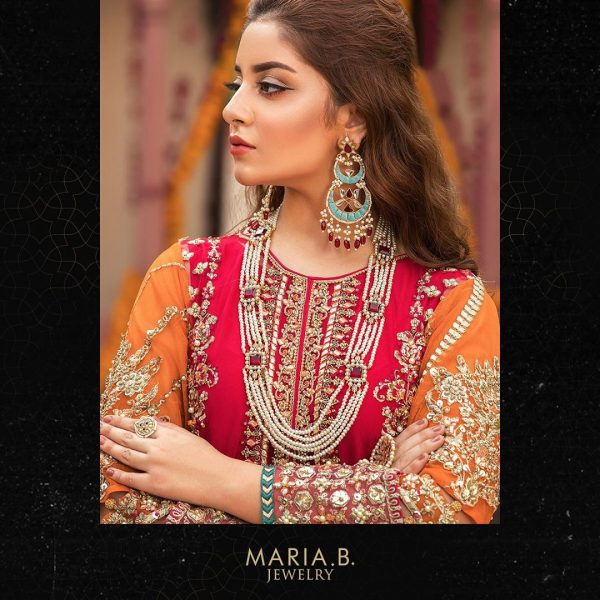 Alizeh Shah Stunning Shoot for Maria B Jewelry