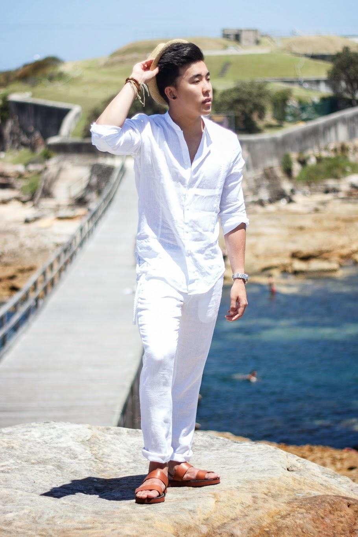Allwhite Semiformal Relaxed Beach Holiday Streetwear Strawhat Zara