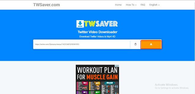 TWSaver.com - Cara Mendownload Video di Twitter | Ladangtekno