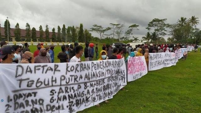 Perajin Jamu Demo Diperas Oknum AKBP Polisi hingga Rp 2,5 M, Propam Polri Turun Tangan