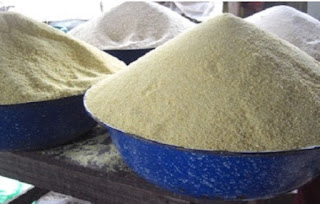 Garri Production, Nutritional Facts And health Benefits