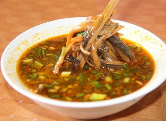 Cách nấu súp lươn Nghệ An