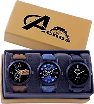 Acnos Analogue Watch for Men's