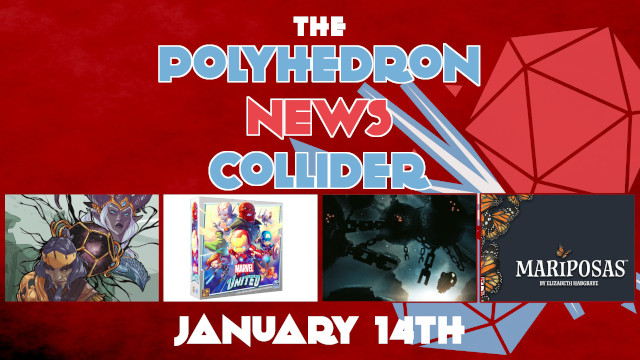 News Board Game News Collider Explorers Guide to Wildemount Coriolis RPG Mariposas Elizabeth Hargrave Marvel United