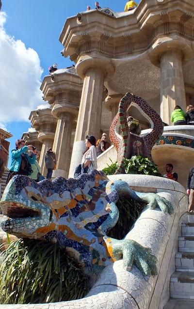 Parque Guell imprescindible en Barcelona