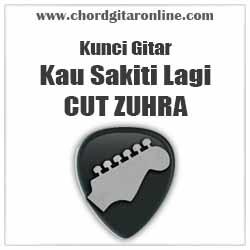 Chord Cut Zuhra Kau Sakiti Lagi