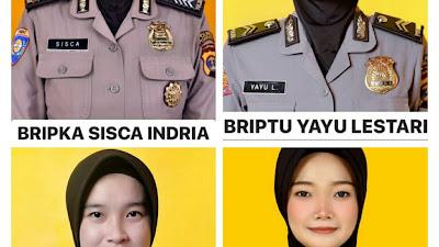 4 Polwan Polda Lampung, Berhasil Torehkan Prestasi di HUT Polwan Ke-72