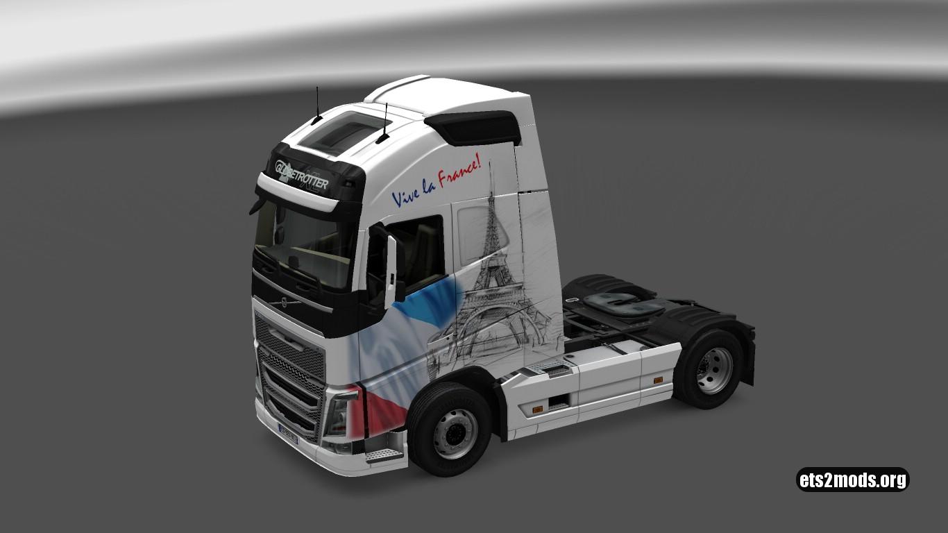 Volvo 2012 Vive La France Skin