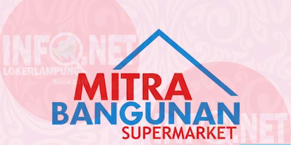 Kasir dan Customer Service Mitra Bangunan Supermarket