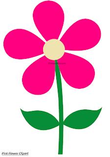 Pink Flower Clipart