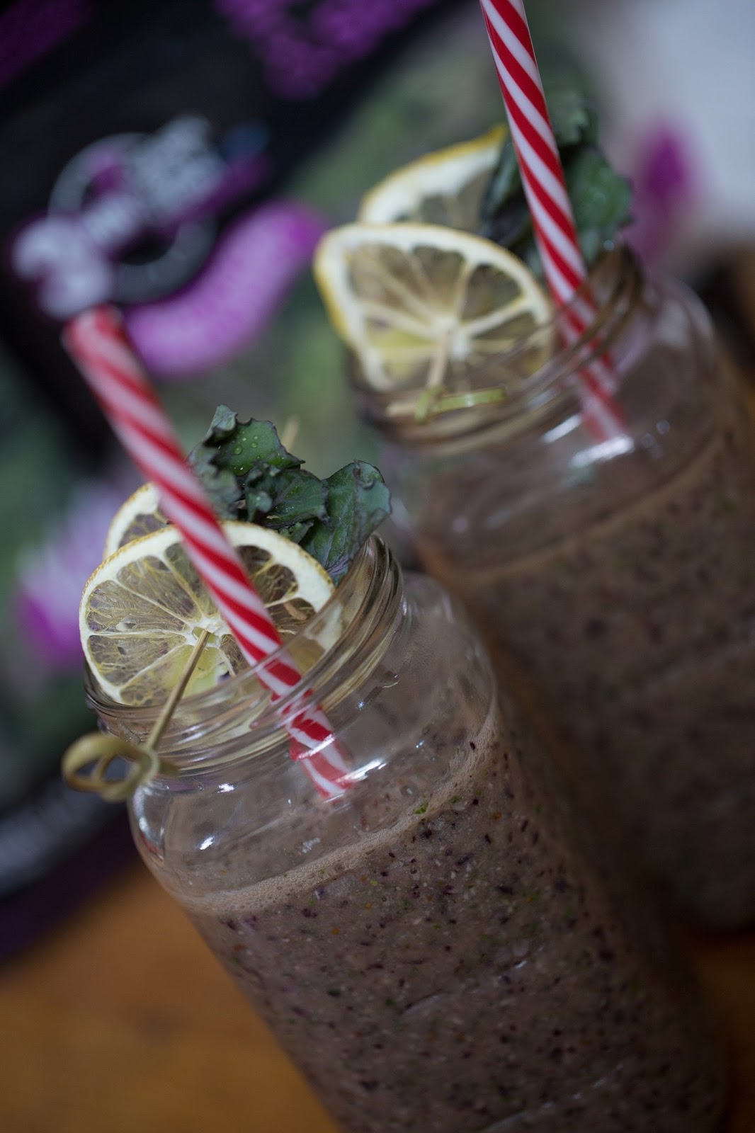 Tony Baker's Kalettes® Blueberry Smoothie