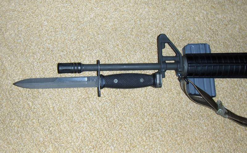 Welcome To The World Of Weapons M7 Bayonet