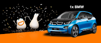 Castiga o masina electrica BMW i3 - concurs - orange - telefoane - samsung - tombola - premii - castiga.net
