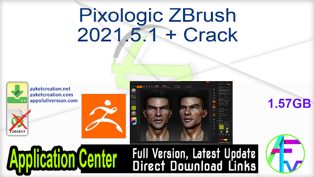 Pixologic ZBrush 2021.5.1 + Crack