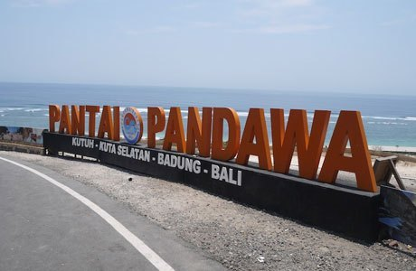 Tempat Wisata Seru di Bali, Pantai pandawa
