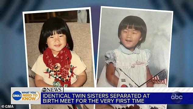 Близняшки родом из Южной Кореи, которых усыновили разные семьи, нашли друг друга через 36 лет в США