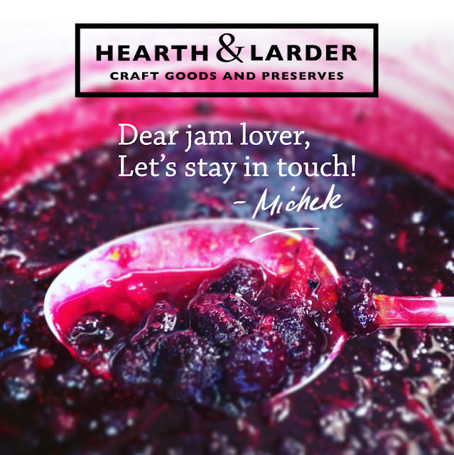 Hearth & Larder newsletter sign up - visit my Facebook page or online store!