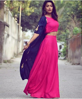 crop top lehengas