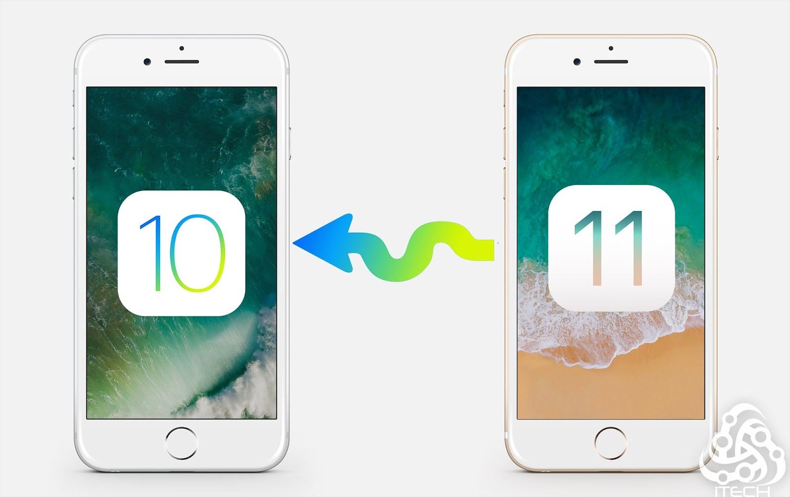 how to downgrade from iPhone or iPad from iOS 11 to iOS 10 without restore
