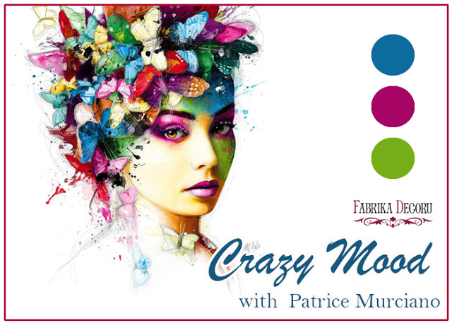 +++Задание октября. Crazy Mood with Patrice Murciano до 31/10
