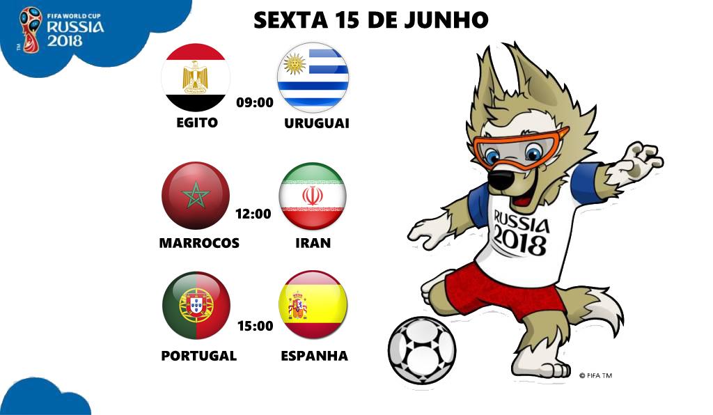92d237e8880bb A sexta-feira também reserva o jogo mais aguardado da primeira rodada  o  duelo entre Espanha e Portugal.