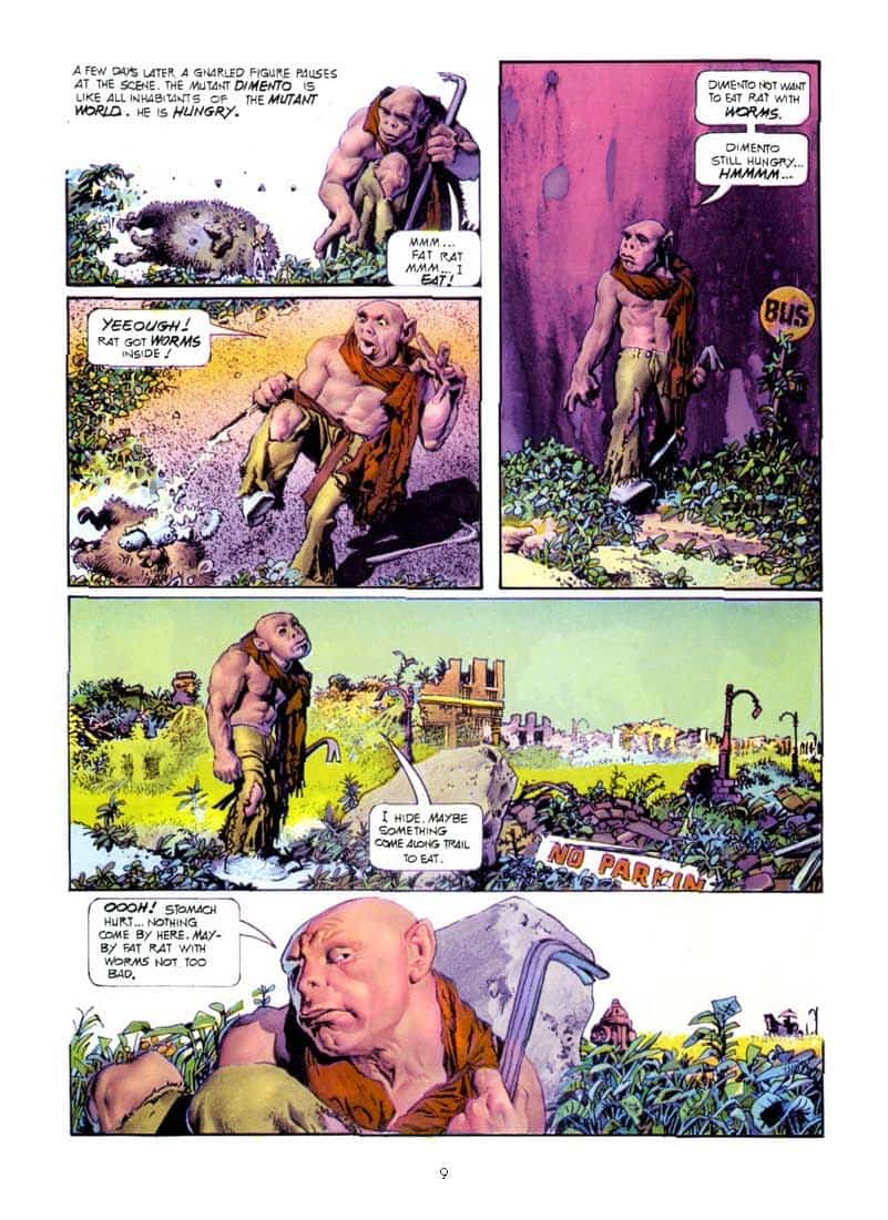 Mundo Mutante/Hijos del Mundo Mutante, de Richard Corben. Reseña
