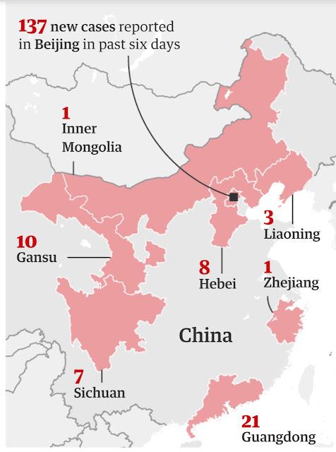 موجة ثانيه من فيروس كورونا المستجد في بكين