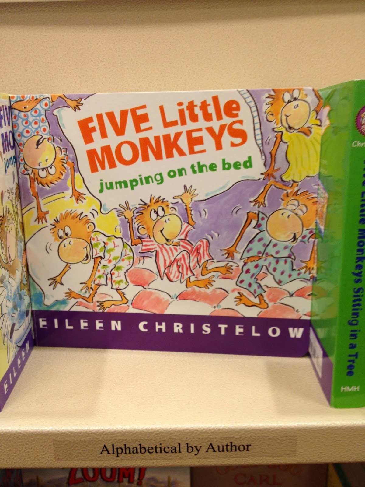 Storytime Snack And Craft Five Little Monkeys Jumping On