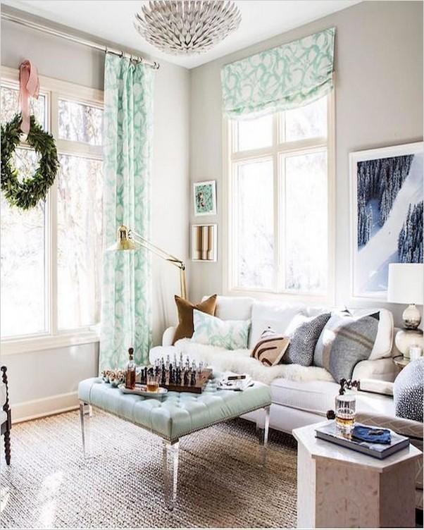 Farmhouse Living Room CURTAINS | Home Interior Exterior ... on Farmhouse Living Room Curtain Ideas  id=25009